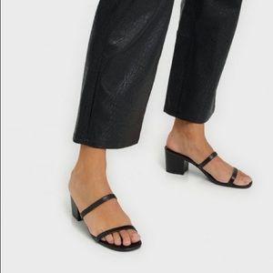 Steve madder issy black sandal